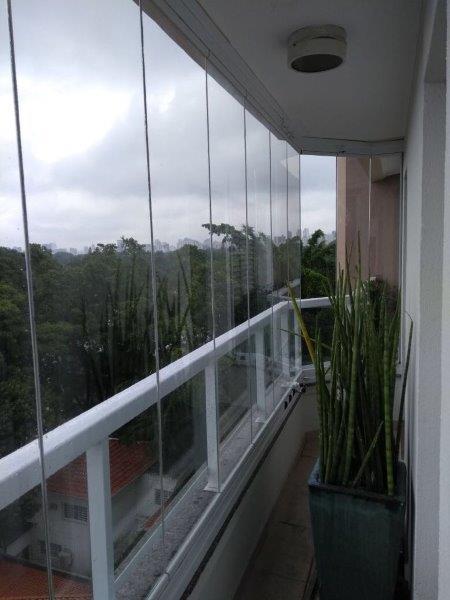 Envidraçamento de varanda Mooca