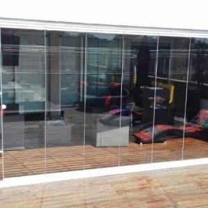 Fechamento em vidro para varanda