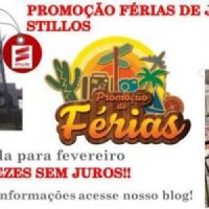 PROMOÇÃO FÉRIAS DE JANEIRO STILLOS